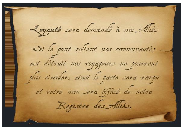 [Signature] Pacte d'Alliance Pacte
